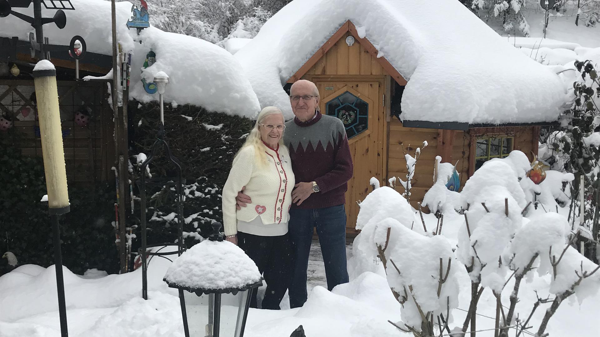 Die Natur vor der Haustür: Seit zwölf Jahren haben Henriette und Karl Polzer ihren ersten Wohnsitz auf dem Campingplatz bei Bad Wildbad.