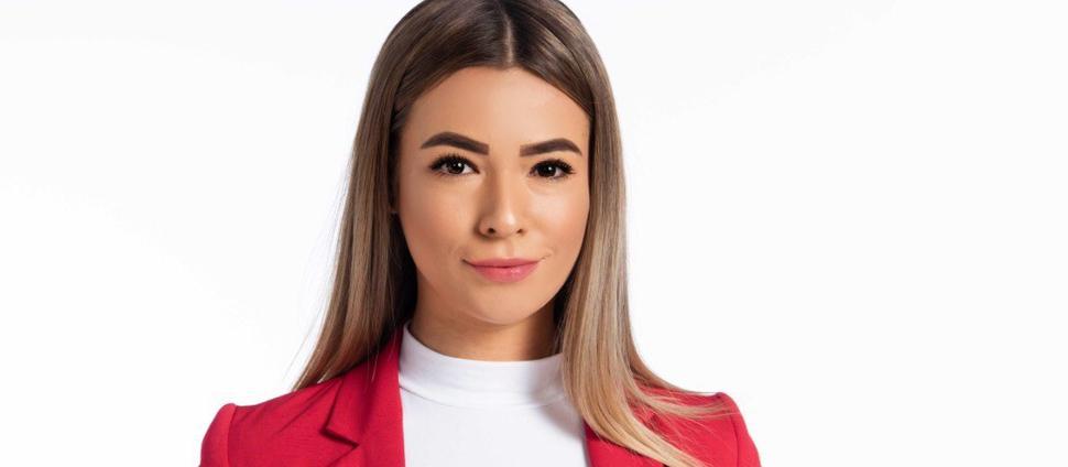 Politischer Look: Ungewohnt im Blazer gab Lena Dietrich im November ihre Kandidatur für den Jugendgemeinderat bekannt.