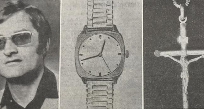 Opfer eines Raubmords: Josip M. verlor mutmaßlich am 21. Juni 1981 nicht nur sein Leben, sondern auch noch ein paar Wertgegenstände wie eine Armbanduhr und ein goldenes Kreuz. Sein Mord wurde nie aufgeklärt.