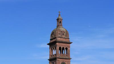 Die katholische Franziskuskirche in Pforzheim.