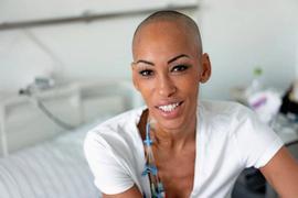 Astrid braucht einen Stammzellenspender mit europäischem und afrikanischen Blut.