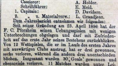 Sieben Stammvereine: Marco Nabinger hat sämtliche Pforzheimer Vereine zusammengetragen, die später im 1. FC Pforzheim und VfR Pforzheim aufgegangen sind, welche 2010 zum 1. CfR fusionierten. Von einigen sind nicht einmal die Wappen bekannt.
