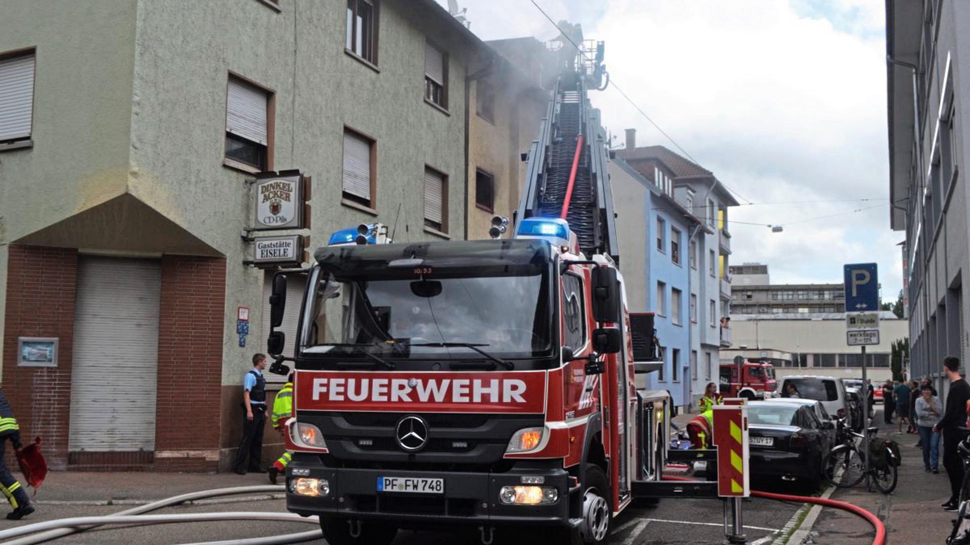Brand In Pforzheim