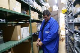 Dringend benötigte Ersatzteile fehlen: Timo Gerstel, Innungsmeister des Kraftfahrzeuggewerbes bei der Kreishandwerkerschaft Pforzheim-Enzkreis sieht schwere Zeiten auf Händler und Kunden zukommen
