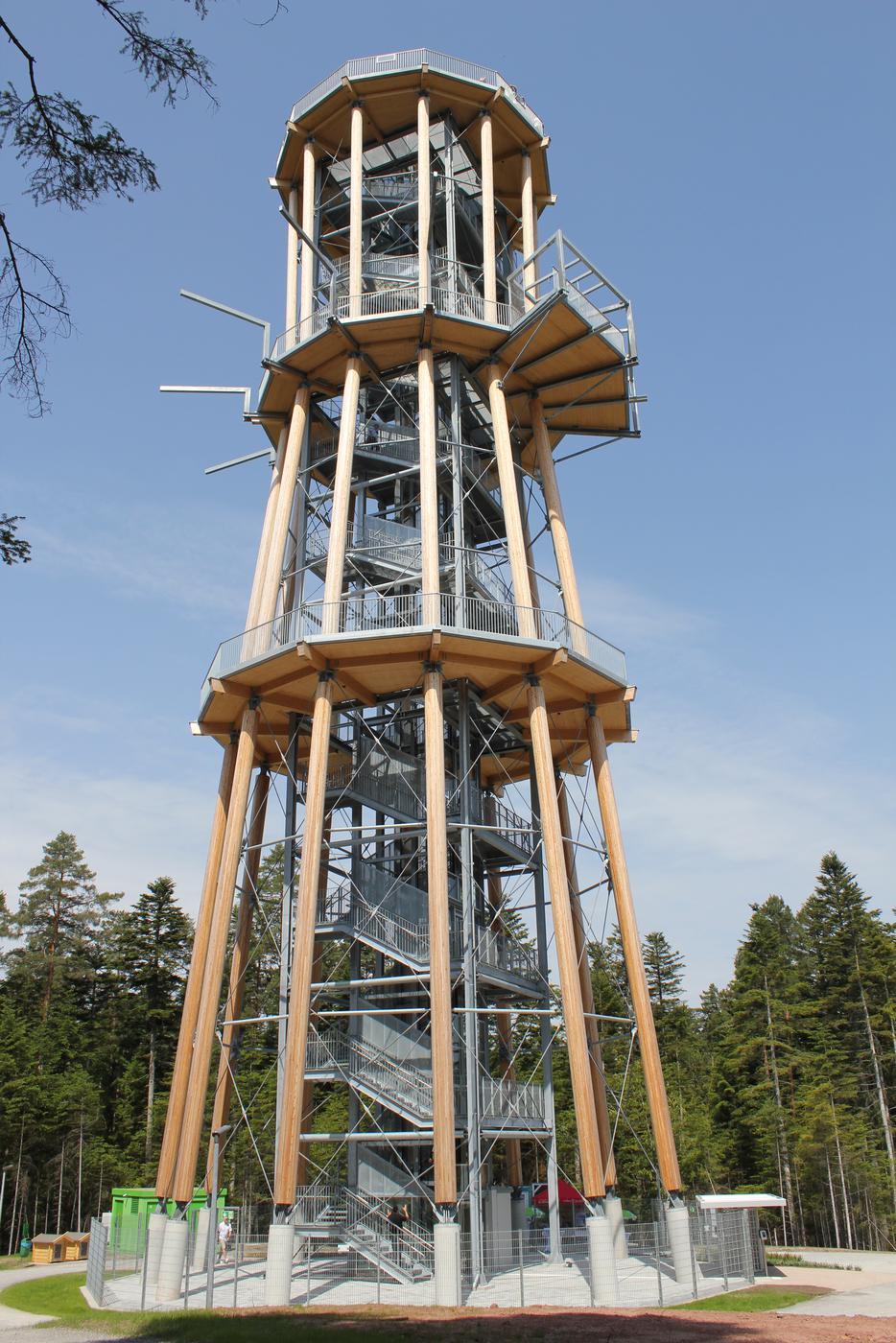 Touristischer Leuchtturm: Mit dem Himmelsglück-Turm will Schömberg den Tourismus ankurbeln und zum Zuschauermagnet im Nordschwarzwald werden.