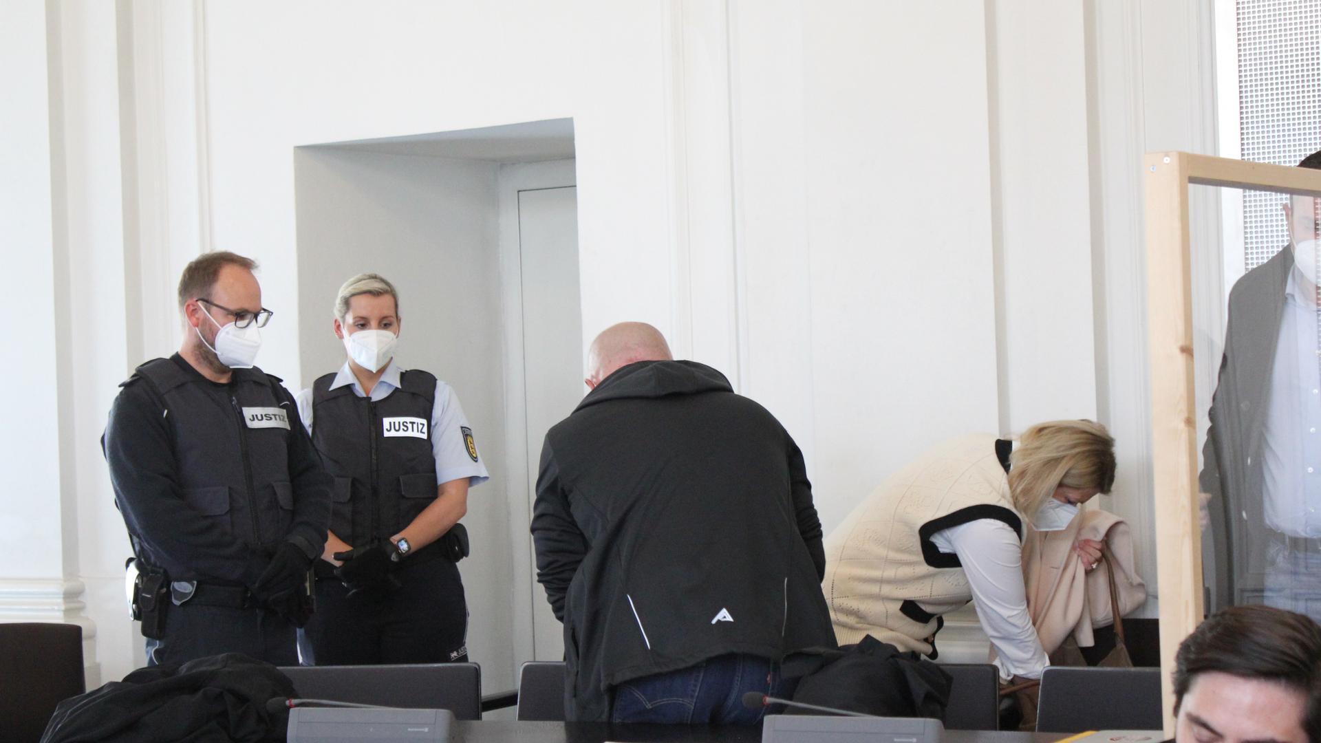 Verurteilt: Ein 43-Jähriger aus Mühlacker muss ins Gefängnis, weil er seinen Geschäftspartner ermordet hat.