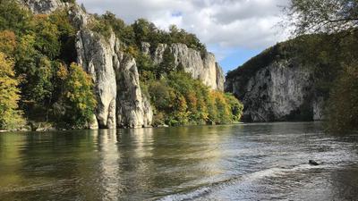 Der Donaudurchbruch bei Weltenburg