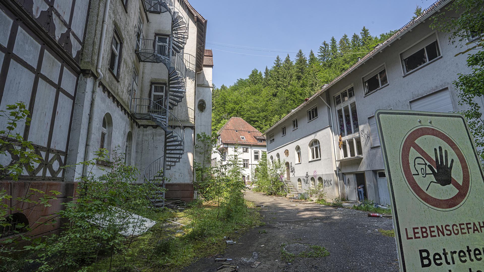 Marode Gebäude