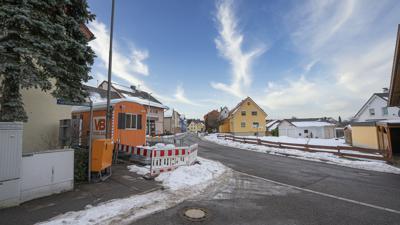 Baustelle Ortsdurchfahrt Salmbach