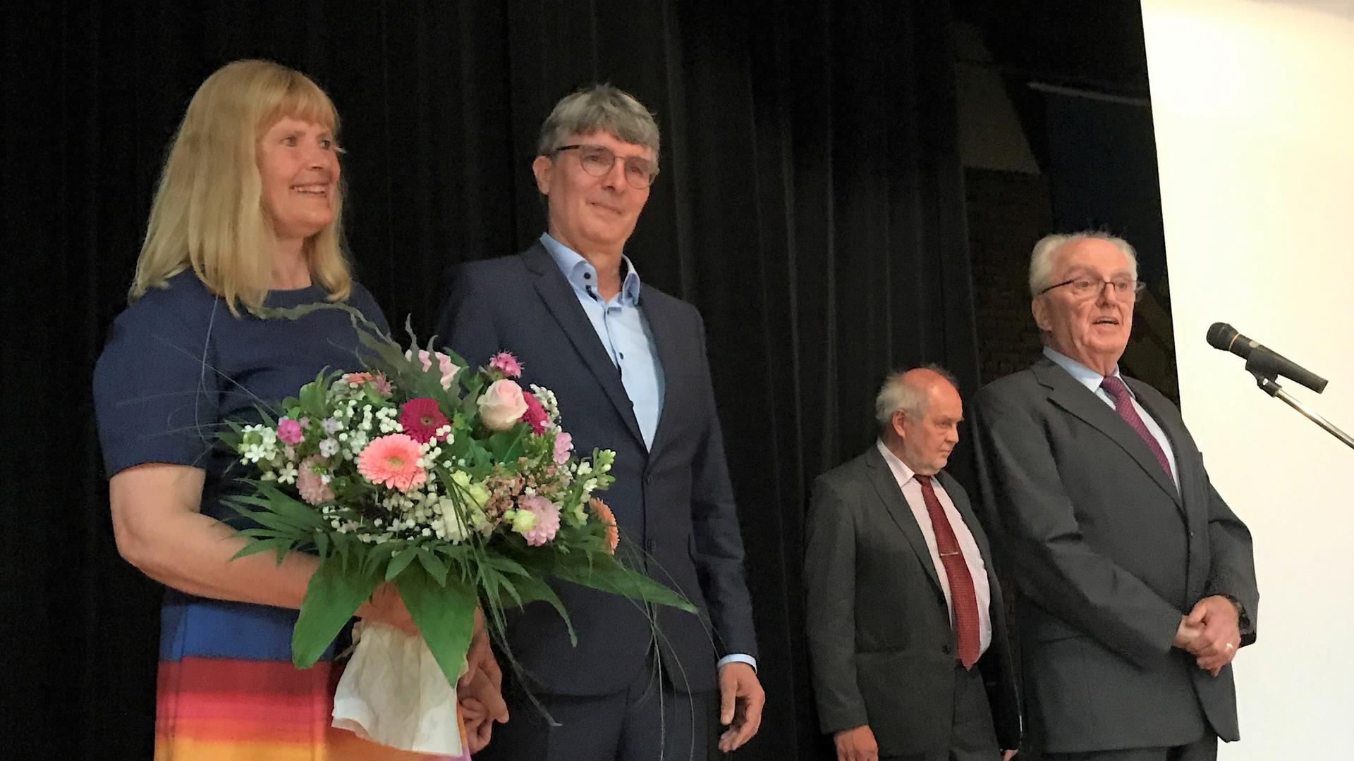Blumen für Ehefrau Susanne Marx