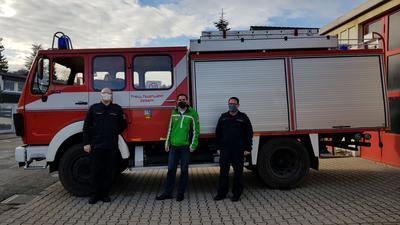 Feuerwehrlöschfahrzeug