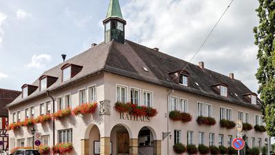 Rathaus-Gebäude