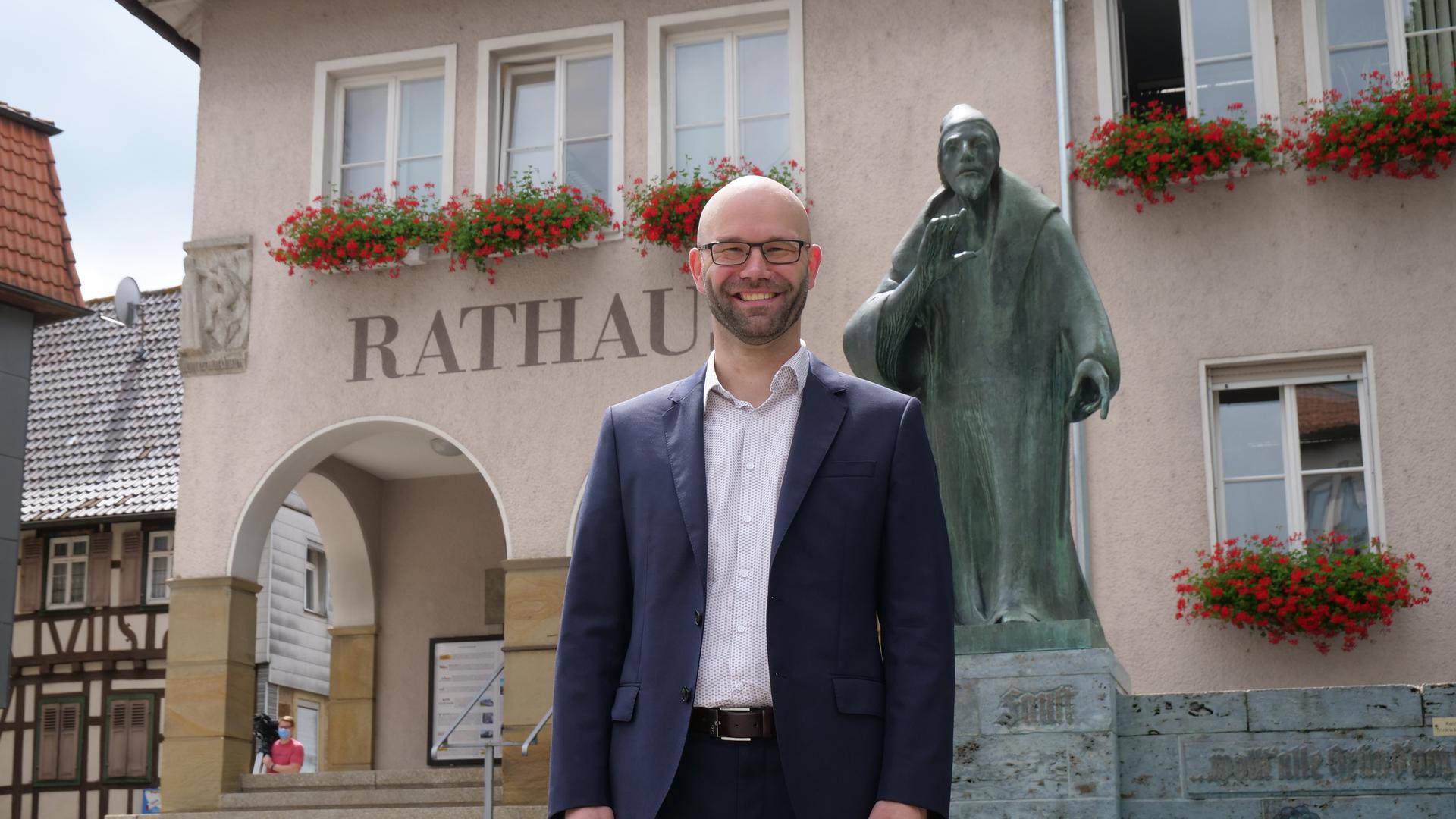 Alexander Kozel wirft seinen Ring in den Hut: Er will der nächste Bürgermeister von Knittlingen werden