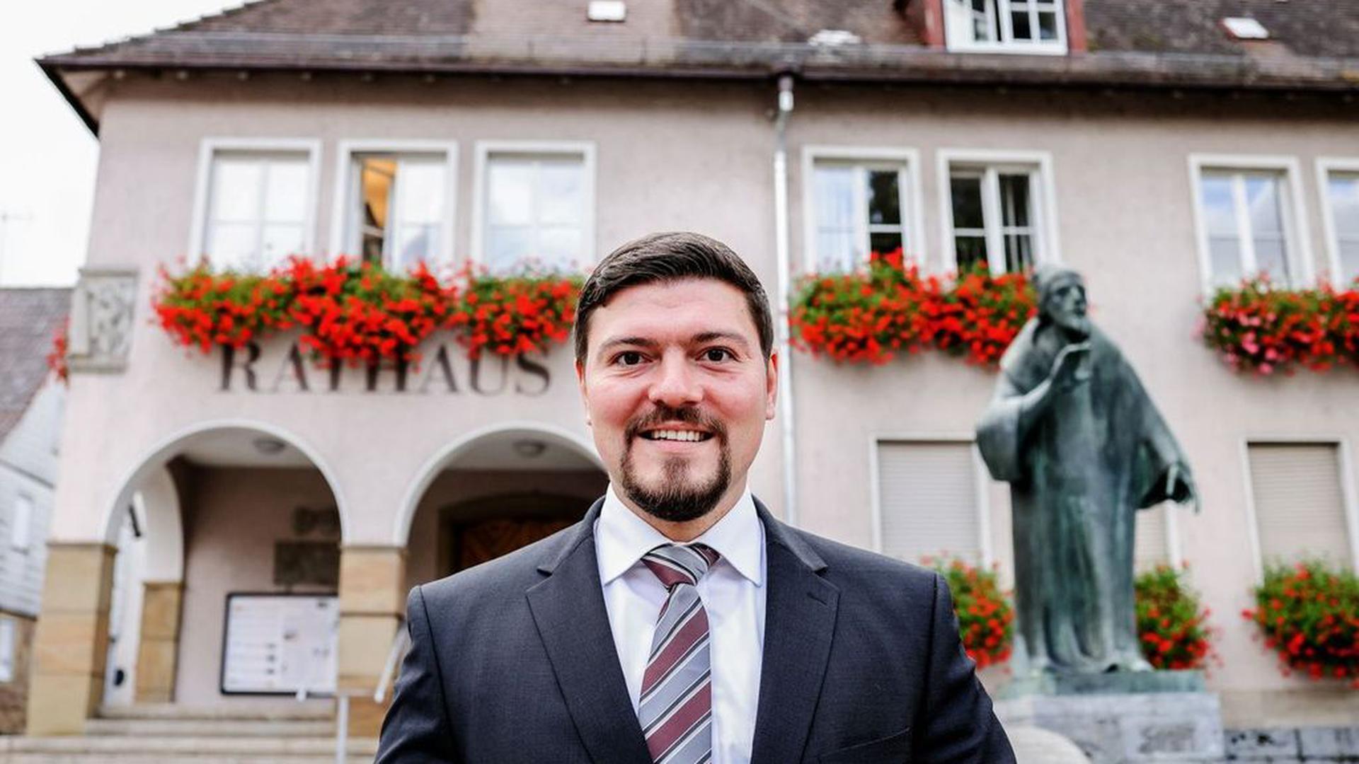 Andreas Laitenberger ist einer der Kandidaten, die für das Bürgermeisteramt in Knittlingen kandidieren