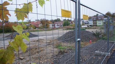 Baubeginn des Seniorenheims Stein