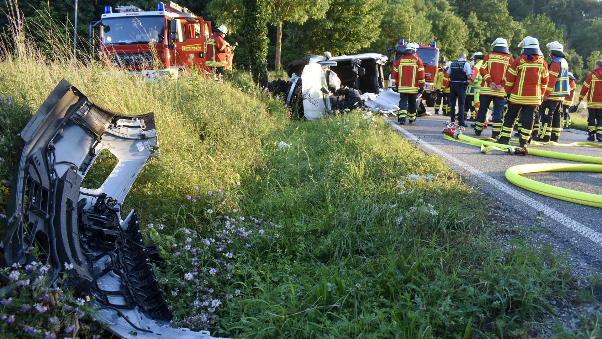 Unfall Einsatzkräfte