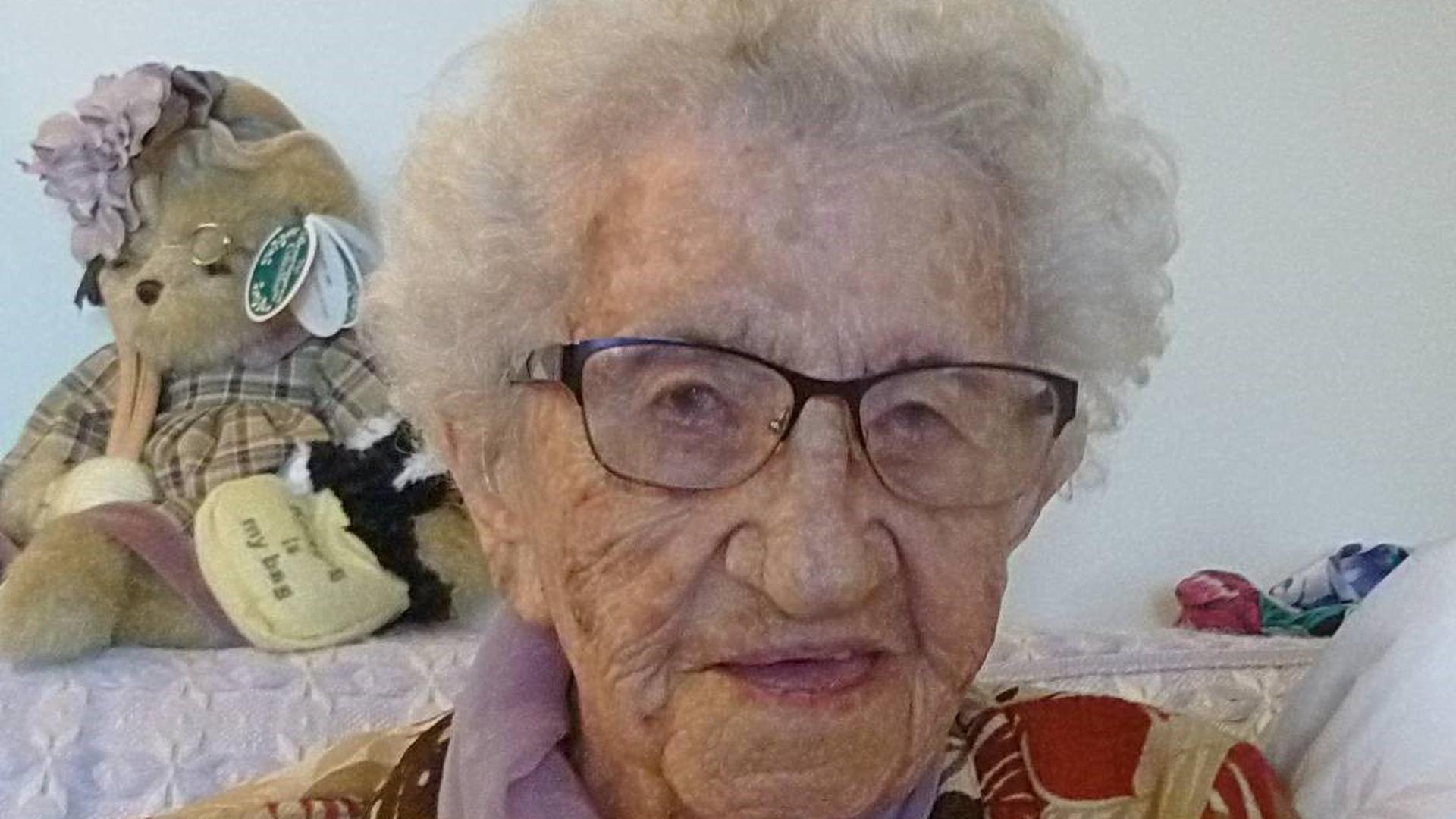 1928 wanderte Liesel Schaaf nach Amerika aus. An diesem Mittwoch feiert sie ihren 113. Geburtstag.