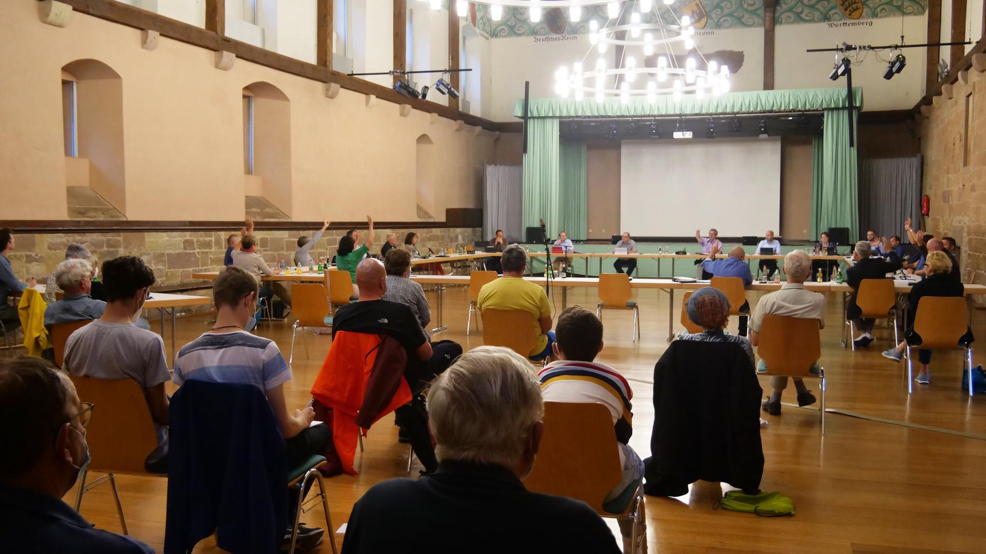 Am Ende stand die Mehrheit: Der Gemeinderat stimmte für eine Potenzial-Analyse. Die Debatte hatten zahlreiche Bürger verfolgt
