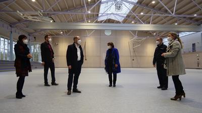 Die Task Force des Enzkreis steckt in den letzten Vorbereitungen. Von links: Nicola Buhlinger- Göpfarth, Bastian Rosenau, Daniel Sailer, Margit Stähle, Carsten Sorg und Miriam Mayer