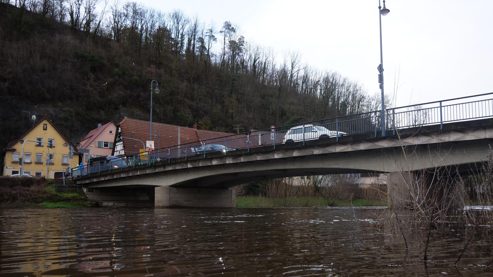 Herrenwaagbrücke in Mühlacker-Dürrmenz