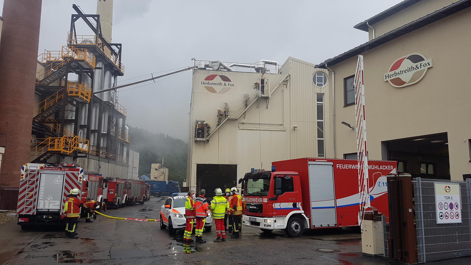 Schwelbrand in Zuckerwerk in Neuenbürg