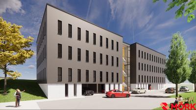 Oberhalb des Krankenhauses Neuenbürg zwischen Vogelsang- und Reblandstraße plant die RKH Klinik Holding einen Erweiterungsbau und ein Ärztehaus.