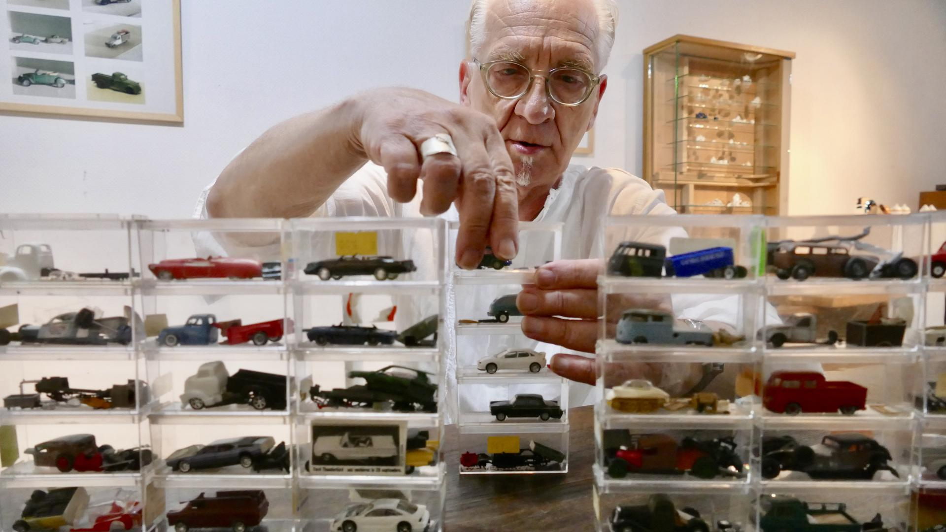 Modellauto Sammler