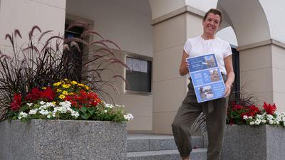 Nieferns Bürgermeisterin Birgit Förster hat innerhalb kürzester Zeit zusammen mit mehreren Künstlern aus der Region ein Benefiz-Konzert mit Sundowner-Schwimmen zugunsten der Hochwasseropfer auf die Beine gestellt