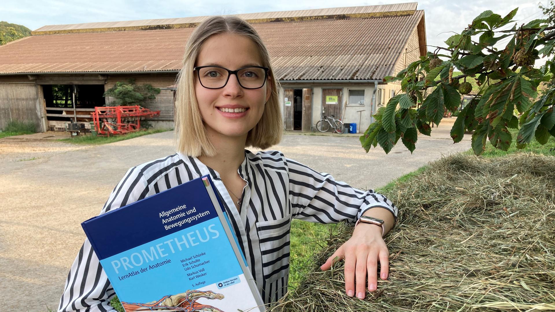 Emily Jilinski, Studentin im Landarzt-Förderprogramm Baden-Württembergs