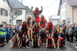 Solche Bilder wird es im kommenden Jahr in Ittersbach wohl nicht geben. Grund sind Kosten für weitere Sicherheitsdienste, die der Verein nicht stemmen kann.