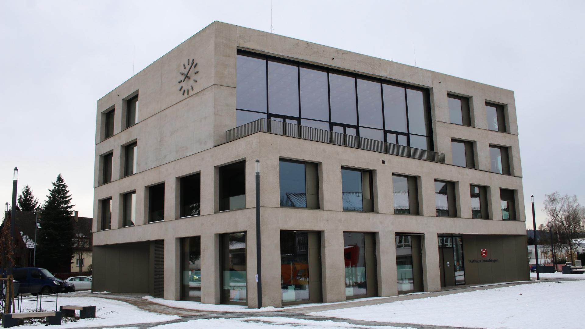 Der Remchinger Rathausneubau ist für den europaweiten Architekturpreis Mies van der Rohe Award 2022 nominiert.