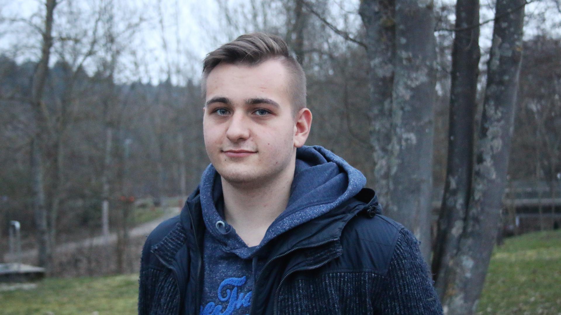 Mit der Partei Die Linke will sich der 18-Jährige Marvin Weiß aus Wilferdingen im Landtag vor allem für sozialpolitische Themen stark machen.