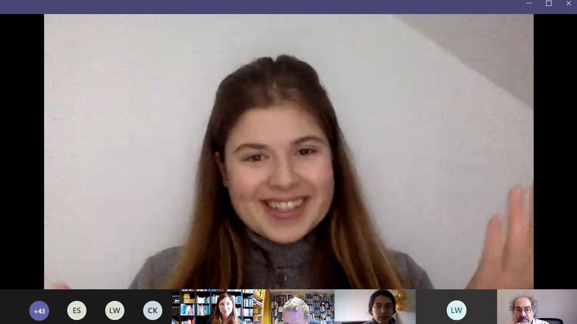"""Videokonferenz im Projekt """"Meet a Jew"""""""