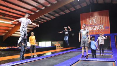 Groß ist die Freude über die Wiedereröffnung des Remchinger Sprungparks insbesondere bei den jungen Besuchern.