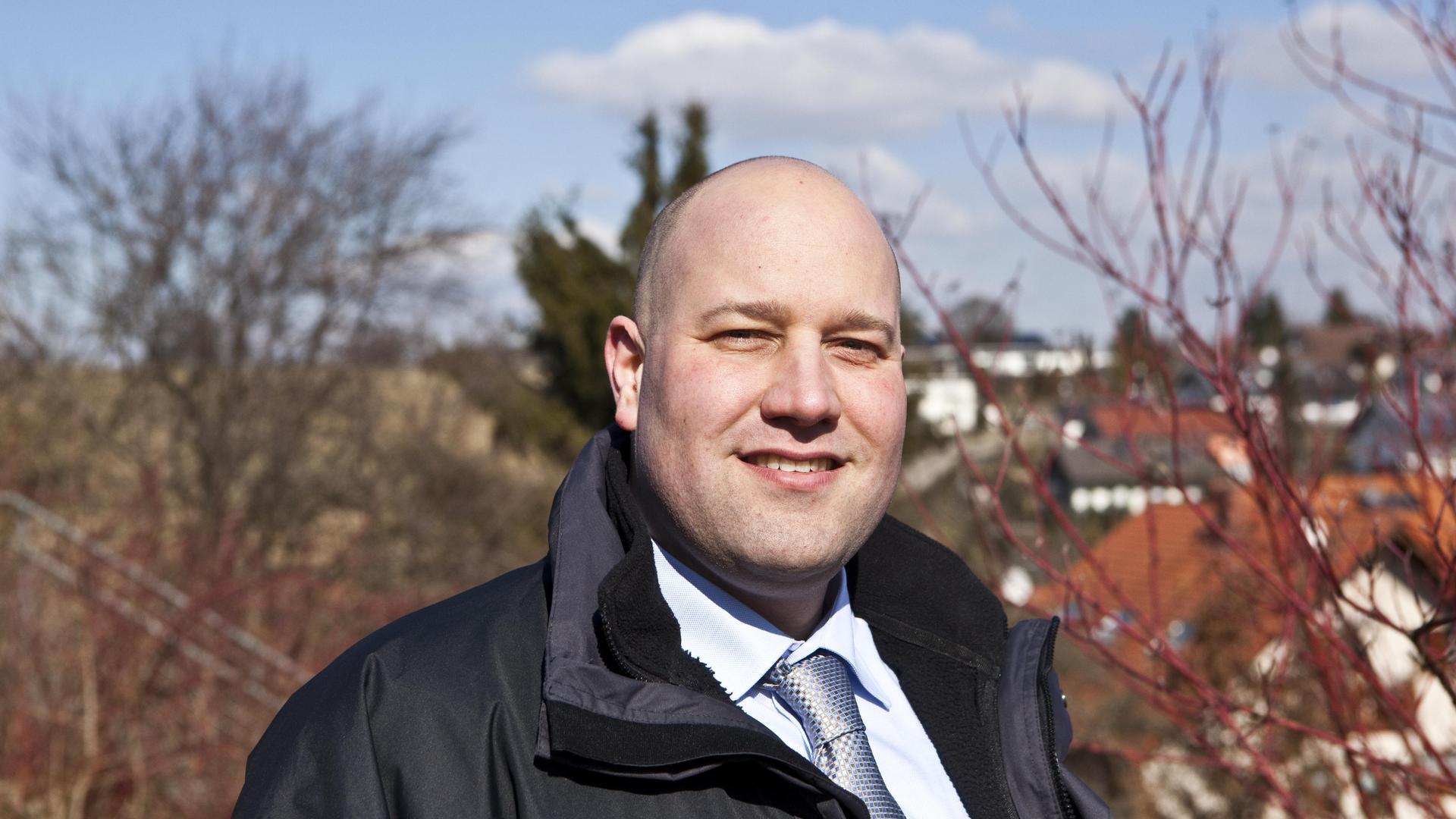 Mario Weisbrich, Bürgermeister von Wimsheim