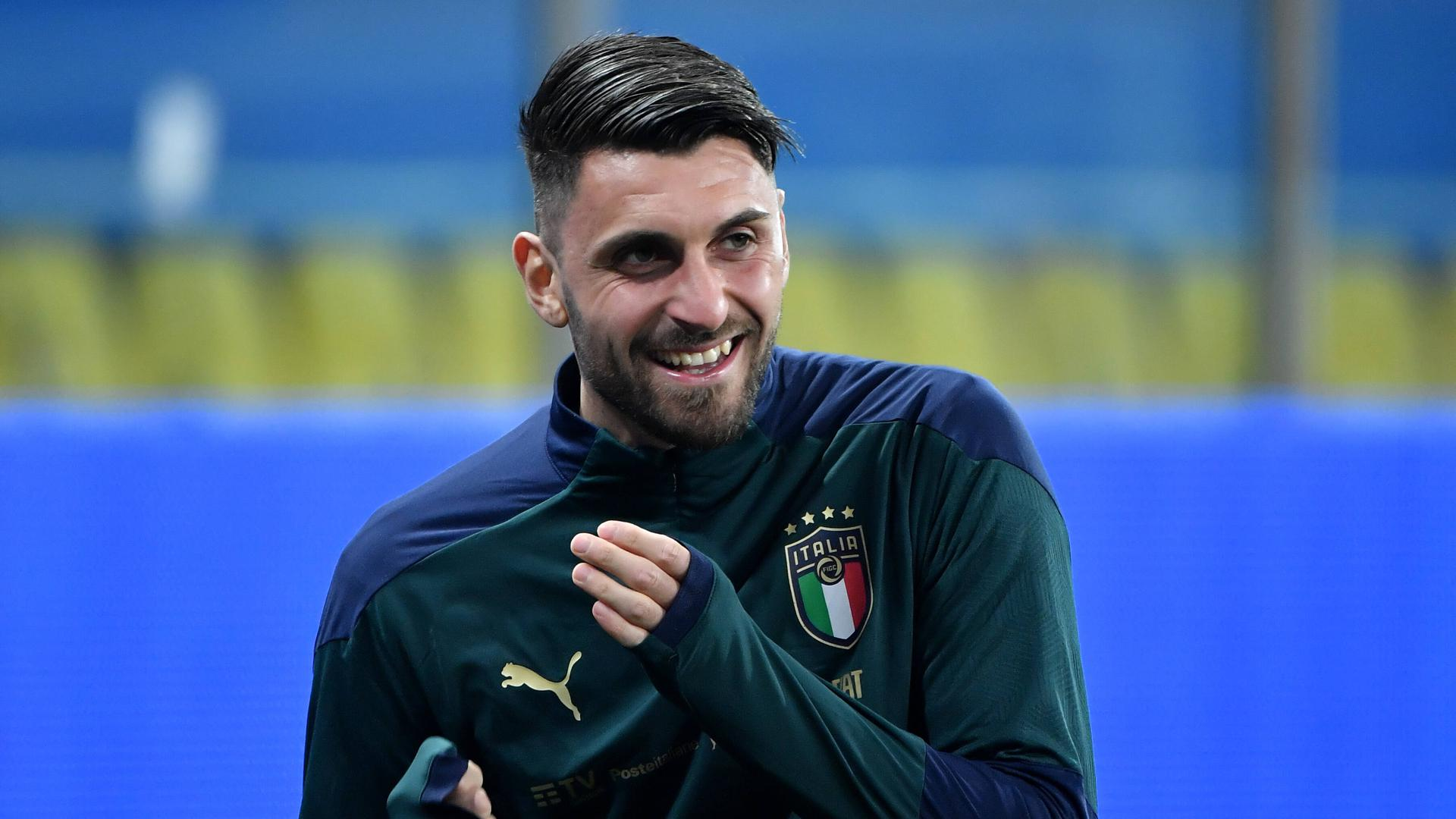 Vincenzo Grifo of Italy of Italy during the FIFA World Cup, WM, Weltmeisterschaft, Fussball 2022 qualification football match between Italy and Northerrn Ireland at stadio Ennio Tardini in Parma Italy, March 25th, 2021. Photo Andrea Staccioli / Insidefoto andreaxstaccioli