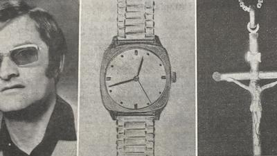 """Ältester """"Cold Case"""": 1981 wurde der kroatische Jugoslawe Josip M. (links) nach einem Besuch der Pforzheimer Mess ermordet. Die Tat wurde bis heute nicht aufgeklärt. Nach der Tat fehlten eine Armbanduhr und ein goldenes Kreuz, die Polizei ging von einem Mann als Täter aus."""