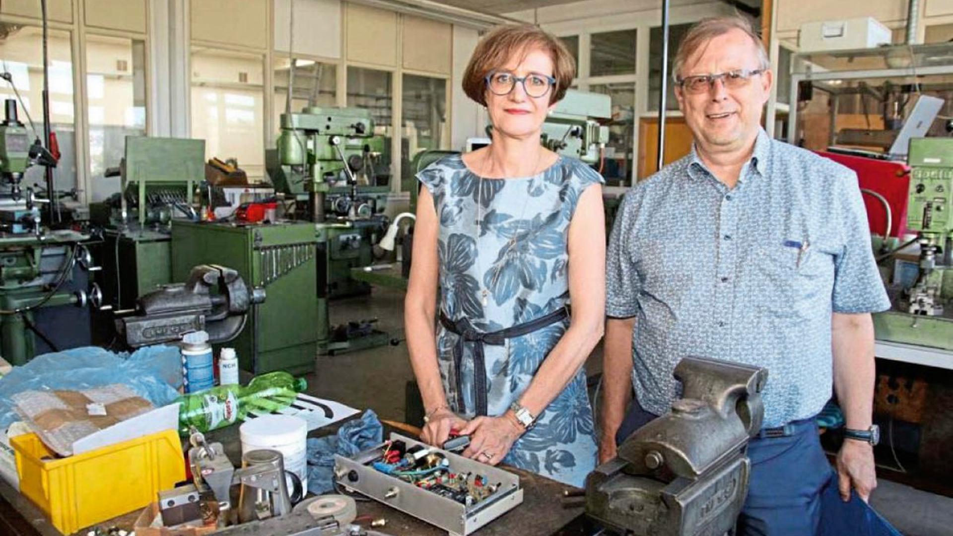 In der Köhle-Produktion wird noch bis Ende August gearbeitet, dann beginnen Karina und Norbert Ratzlaff mit der Abwicklung der Schmuckfirma und beenden eine Pforzheimer Familientradition.