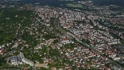 Pforzheim neues Luftbild