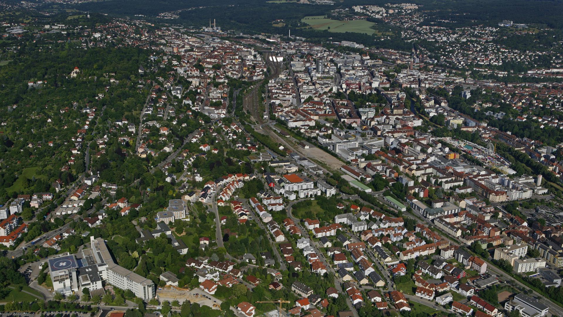 Pforzheim Luftbild