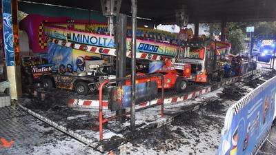 Bei dem Brand entstand ein  Sachschaden von etwa 100.000 Euro.