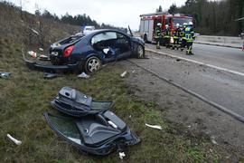 Unfall auf der A8
