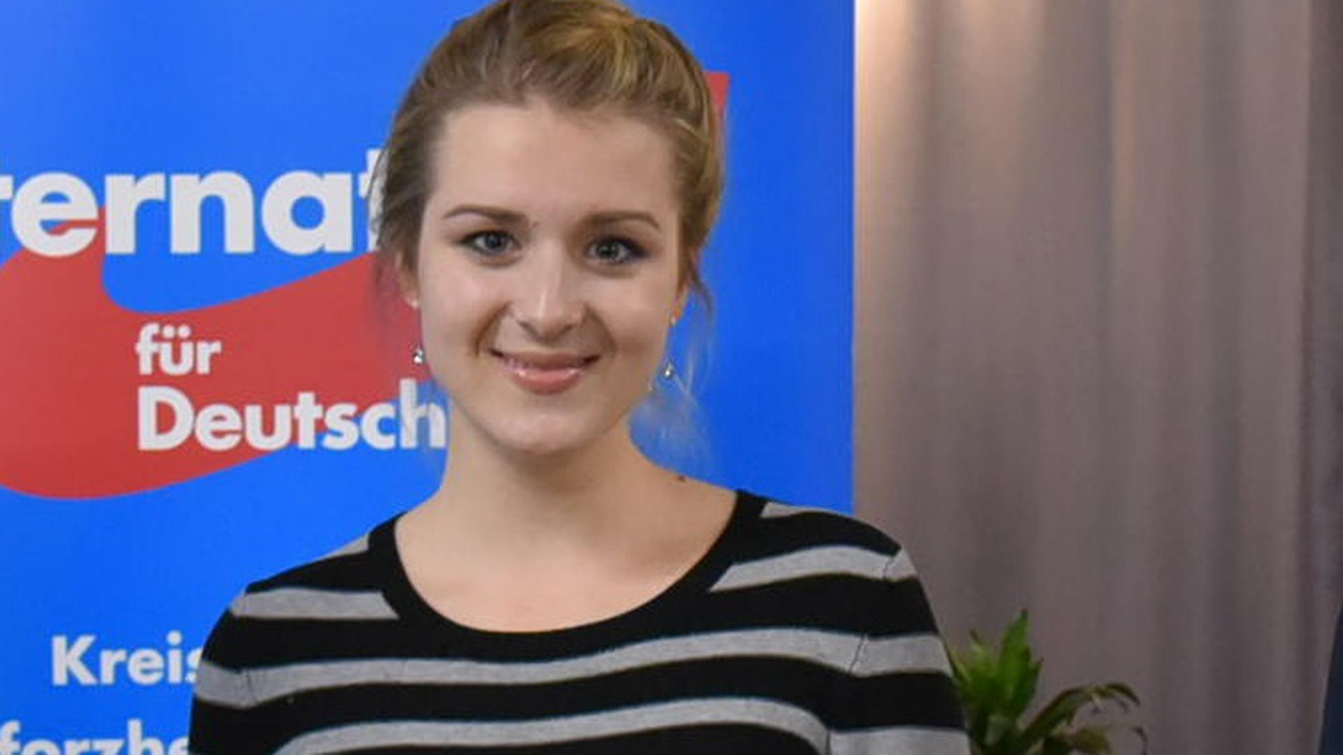Die Pforzheimer AfD-Kandidatin Diana Zimmer.
