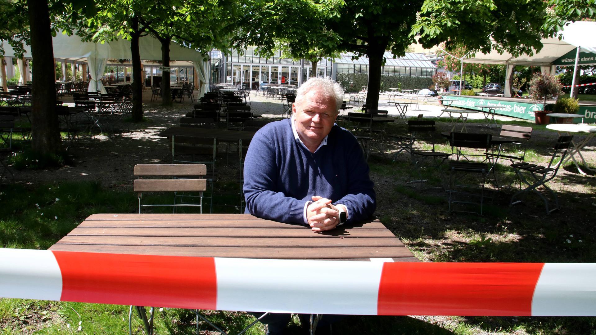 Frank Daudert im Enzauenpark