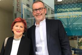 Ehepaar Ingrid und Wolfgang Fischer