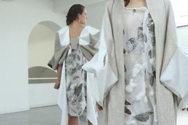 Modekollektion von Julia Judenhahn am Ende des 3. Semesters Sommer 2021 in Pforzheim