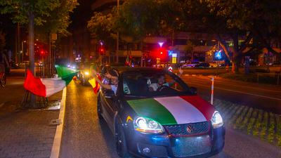 Autokorso Italien