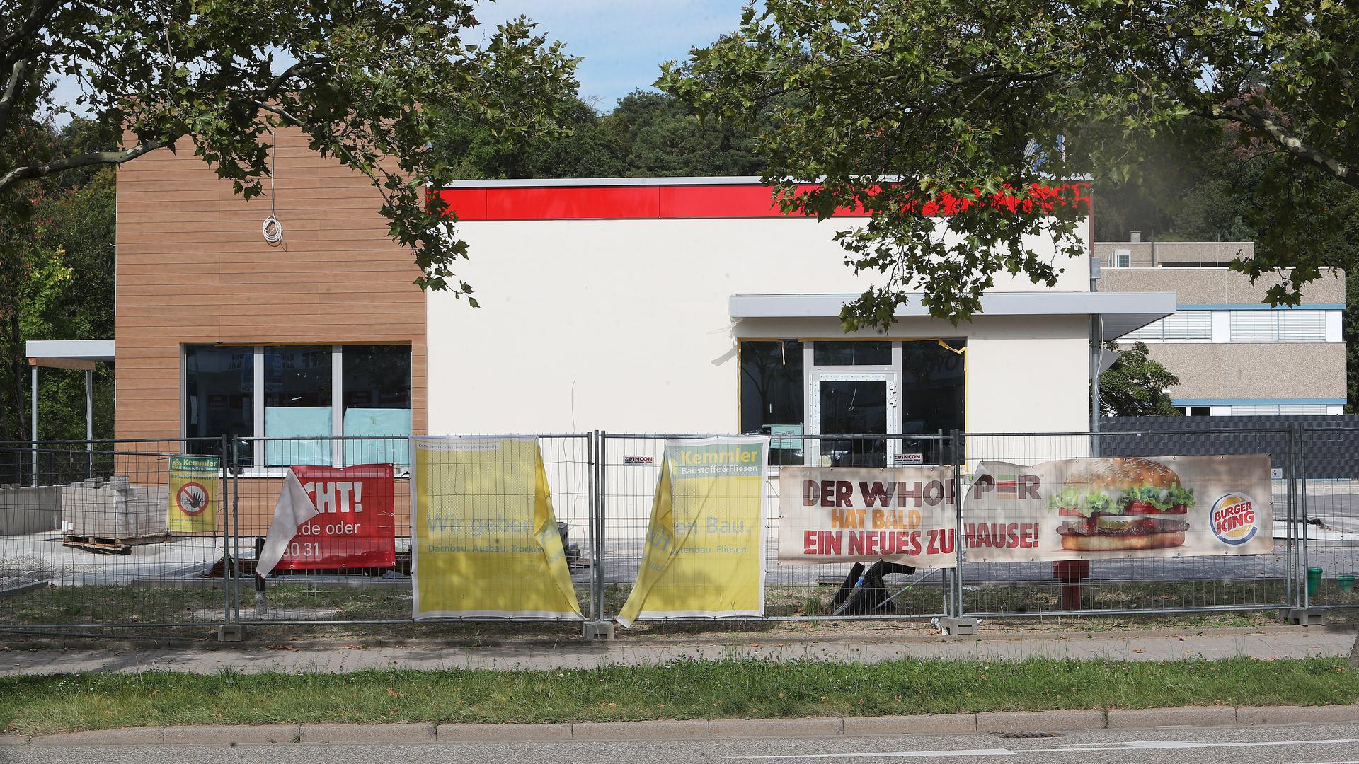 Neuer Burger King Wilferdinger Höhe_Karlsruher Straße_noch nicht geöffnet016