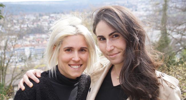 Lisa und Anna Dengler.
