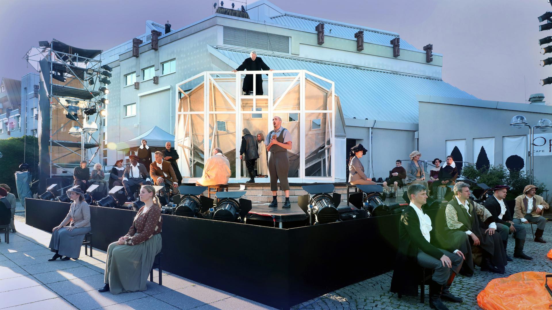 Open-Air-Theater in PForzheim